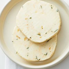 Compound butter is a fancy name for butter with stuff in it. One of our favorite compound butters is Fresh Tarragon Butter. Top your grilled steak with a pat of butter or toss some with hot grilled vegetables.