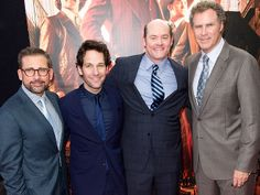 FOUR THE WIN photo | David Koechner, Paul Rudd, Steve Carell, Will Ferrell