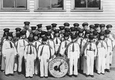 Fisherville School Band - 1945