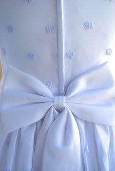 First communion dress.