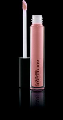 The PERFECT nude lipgloss -- MAC Cremesheen Glass in Partial to Pink