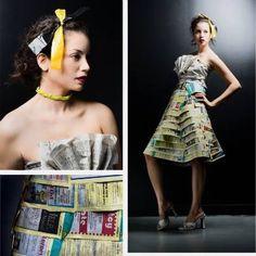 #librarianchic #modabibliotecaria Book dress