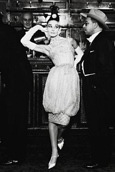 Audrey Hepburn, photographed by Richard Avedon, Paris, 1959