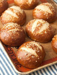 Homemade Pretzel Buns Recipe - RecipeChart.com