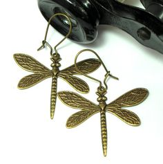 Dragonfly Earrings by Mystic Pieces