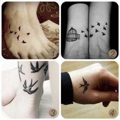 bird tattoo (seen by @Pearledxv826 )