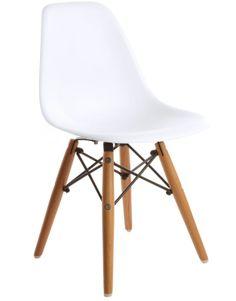 Replica Eames DSW Side Chair - Junior White