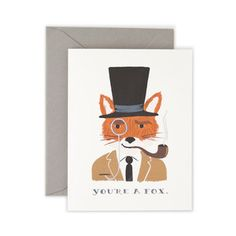 You're A Fox Card 8 Pack, $16, now featured on Fab.