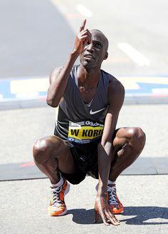 Wesley Korir Wins Boston Marathon 2012
