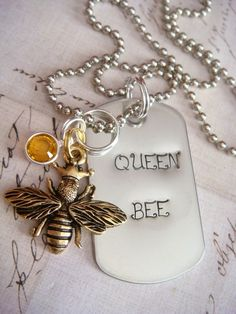 ≗ The Bee's Reverie ≗  bee pendant