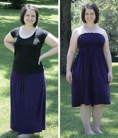 Convertible dress/skirt tutorial