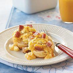 Ham & Egg Casserole | MyRecipes.com