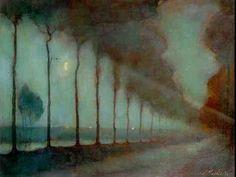 mank 18891920, landscap, inspir, paint, jan mankes, artist