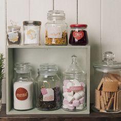 Cute pantry labels!