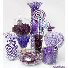 Purple Candy Buffets