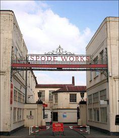 Spode factory, Stoke.