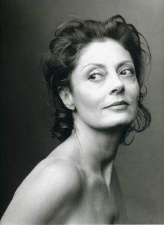 Susan Sarandon, photo by Annie Leibovitz.