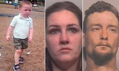 Couple charged with murder in beating death of the woman's toddler son...he was found with OVER 230 bite marks, bruises, and other injuries....death penalty would be the best thing for these two p.o.s.