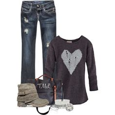 tmlstyle, sweater, fashion, cloth, fans, fall, closet, polyvore, boots