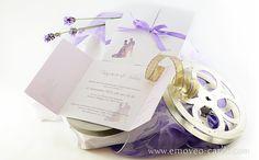 Fairy Love: romantic Wedding invitation by e-MoVeo Cards www.emoveo-cards.com Invito matrimonio Hochzeitseinladung