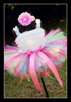 Sweetie Pie Birthday Tutu - Custom Tutu Great for Girls Dance 1st Birthdays Photos Pink Dress up, Beautiful Tutu