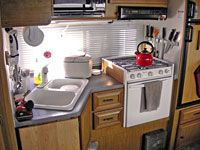 Practical ideas for living in an RV or any tiny space.