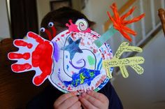 Hermit Crab Craft - for the book A House for Hermit Crab by Eric Carle.  This is the most adorable craft.