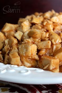 Baked Sweet and Sour Chicken. Use freeze dried chicken.