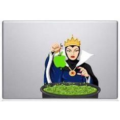 Evil Witch Dip Apple MacBook Decal Mac Apple skin sticker