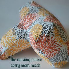 Our blogger is loving this new design in nursing pillows. #BabyCenterBlog