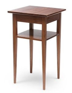 Shaker Walnut Nightstand