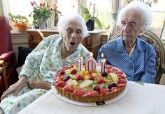 """She says since she is 2 minutes older, she gets to blow out the candles."