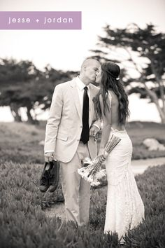 Sexiest beach wedding dress ever...Love the lace and low back