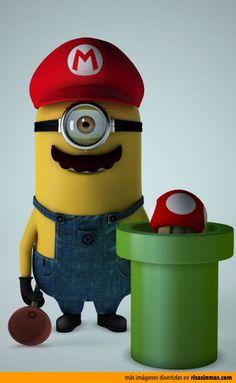 Minion Mario Bros.