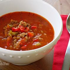Here's a collection of SOUP recipes that you can put together in the morning in your crock pot and come home to dinner all ready for you later in the day...   Daily Dish with Foodie Friends Friday