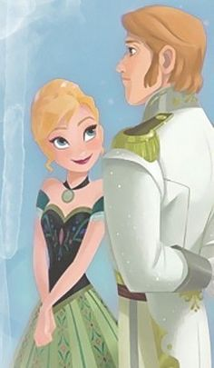 Disney's frozen anna and Hans