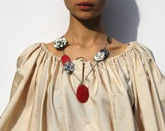 """ARENAgal by Renée Riccardo """"Sunkissed"""" pendant necklace (SOLD)"""