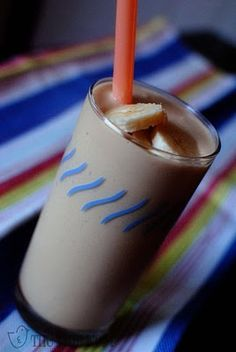 Peanut-butter banana smoothie