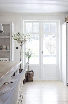 3/4 french doors