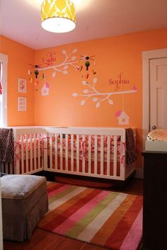 Shared Baby's Bedrooms