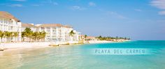 Playa del Carmen, Mexico...awesome, AWESOME crystal clear blue waters!!! Exceptional snorkeling because of the clear waters...LOVED this place so did the kids...it was their 1st real boogie boarding experience in the ocean :)