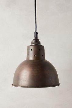 Cargo Pendant Lamp #anthropologie
