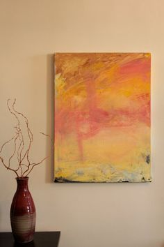 Original Abstract Acrylic Painting by RLWII