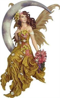 Nene Thomas ~ EARTH MOON ~ Fairy Fantasy Couture Figurine