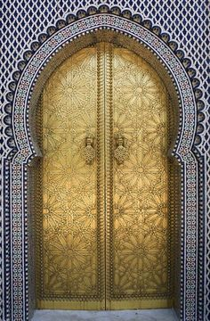 Front Door | Paint Color | Moroccan Design