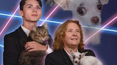 Best principal ever? Laser-cat student gets company in yearbook photo