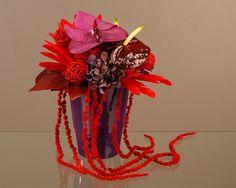 Composition florale aux tons chauds | Conseils, décoration, tendances de l'art floral