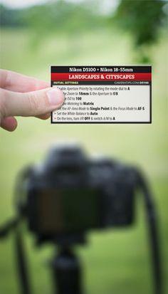 Mooses Nikon D5100 Cheat Cards