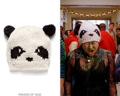 Thanks fadingcolors6652!  Claire's Panda Beanie - No longer available