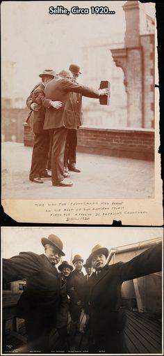 vintag, selfie, 1920s selfi, histori, selfi 1920, stuff, funni, circa 1920, photographi